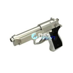 replique-Cyma M9 AEP Chrome (CM126SV) -airsoft-RE-CMCM126SV