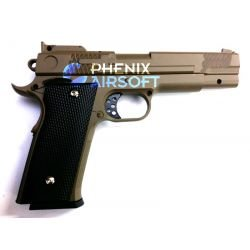 replique-Pistolet Ressort Browning M945 Desert Metal (Galaxy G20D) -airsoft-RE-GAG20D