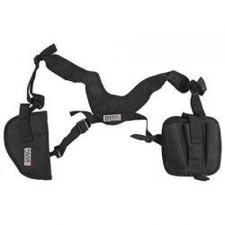 Horizontales schwarzes Schulterholster (Swiss Arms 603612)