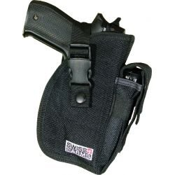 Holster Deluxe Black Belt (Swiss Arms 603614)