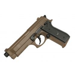 replique-Pistolet Ressort Taurus PT92 / M9 Desert Metal (Swiss Arms 210117) -airsoft-RE-CB210117