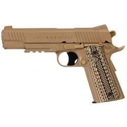 replique-Colt 1911 M45A1 Désert Métal Co2 (Swiss Arms 180313) -airsoft-RE-CB180313