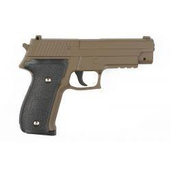 Pistola de metal Sig Sauer P226 Spring Desert (Galaxy G26D)