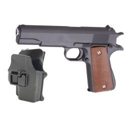 replique-Galaxy G13 pack Colt M1911 Full Metal Ressort avec Holster -airsoft-RE-GAG13+