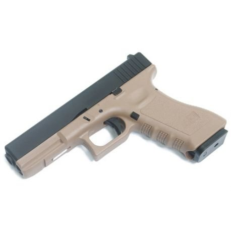 replique-KJ Works G17 Co2 Desert (KP17) -airsoft-RE-KJGC0505TN