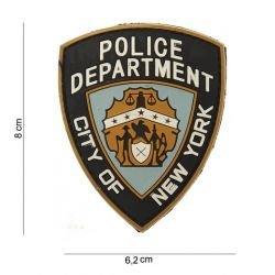 Parche de PVC 3D Departamento de Policía de Nueva York (101 Inc)