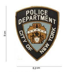 PVC 3D Patch Dipartimento di Polizia di New York (101 Inc)
