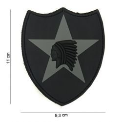 Patch 3D PVC 2nd Infantry (101 Inc)