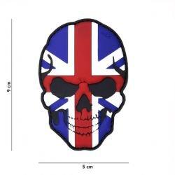Parche Reino Unido 3D Skull Flag (101 Inc)