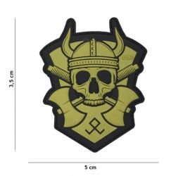 Patch 3D PVC Viking with Hatchet OD (101 Inc)