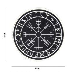 Parche negro de protección de runas de PVC 3D (101 inc.)
