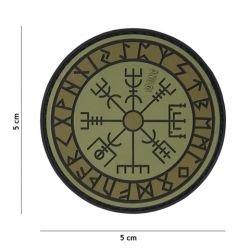Parche de protección contra las runas de PVC 3D (101 inc.)