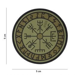 Patch 3D PVC Runes Protection OD (101 Inc)