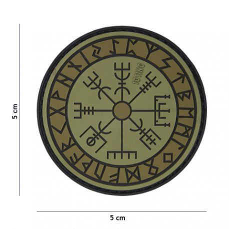patch 3d pvc runes de protection od. Black Bedroom Furniture Sets. Home Design Ideas