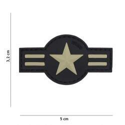 101 INC Patch 3D PVC US Air Force Gris (101 Inc) AC-WP4441305063 Patch en PVC