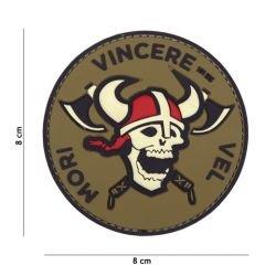 Patch 3D PVC Mori Vincere Vel (101 Inc)