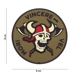 PVC 3D Patch Mori Vincere Vel (101 Inc)