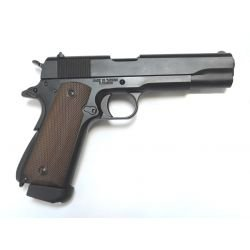 replique-KJ Works 1911 Military Co2 Full Métal -airsoft-RE-KJ1911C