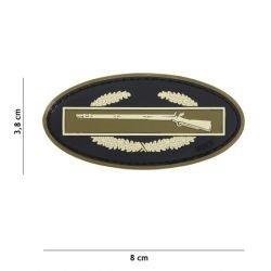 101 INC Patch 3D PVC Infantry Coyote (101 Inc) AC-WP4441305090 Patch en PVC