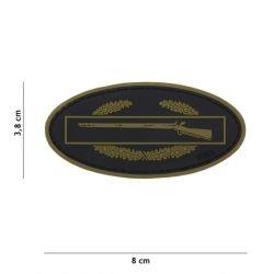 Parche de infantería de PVC 3D OD (101 Inc)