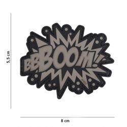 Patch 3D PVC BBOOOOM ! Gris (101 Inc)
