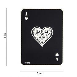PVC-Patchkarte AS von Black Heart (101 Inc)
