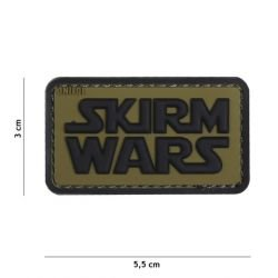 Patch 3D PVC Skirm Wars OD (101 Inc)