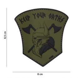Patch 3D PVC Keep your Oarths OD (101 Inc)