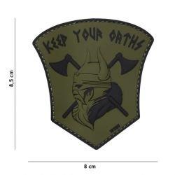Patch 3D PVC Keep your Oaths OD (101 Inc)