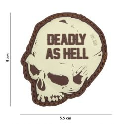 PVC Patch Deadly come Hell Coyote (101 Inc)