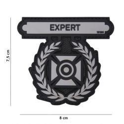 Patch 3D PVC Expert Medal Gris (101 Inc)