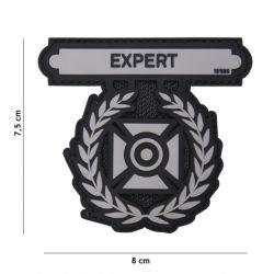 101 INC Patch 3D PVC Expert Medal Gris (101 Inc) AC-WP4441305179 Patch en PVC