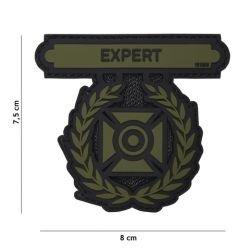 Medalla de experto en PVC 3D OD parche (101 inc.)