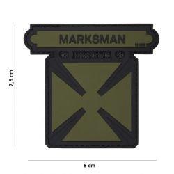 Medalla de PVC Marksman Medal OD 3D Patch (101 Inc)