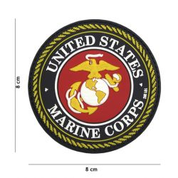 Patch 3D US Marine Corps PVC (101 Inc)