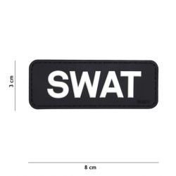 Patch 3D PVC SWAT Noir (101 Inc)
