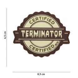 Patch terminatore certificato PVC 3D Coyote (101 Inc)