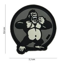 Patch 3D PVC King Kong Gris (101 Inc)