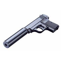 Galaxy G9A Typ Colt 25 mit RE-GAG9A Schalldämpfer Repliken mit Feder