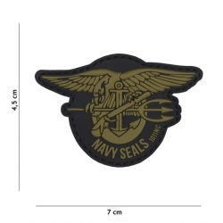 Patch 3D PVC logo Navy Seals OD (101 Inc)