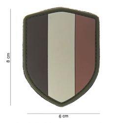 Patch 3D PVC Ecusson Belgique Desert (101 Inc)