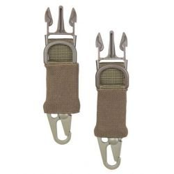 101 INC Snap Hook Clips 2 pcs Désert (101 Inc) AC-WP259354D Sangle