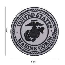 Patch 3D in PVC americano Marine Corps 3D (101 Inc)
