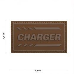 Parche de PVC 3D Coyote Charger (101 Inc)
