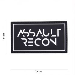 Patch 3D PVC Assault Recon Noir (101 Inc)