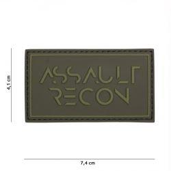 101 INC Patch 3D PVC Assault Recon OD (101 Inc) AC-WP4441305257 Patch en PVC
