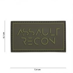 Patch PVC Assault Recon OD 3D (101 Inc)