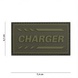 Patch 3D PVC Charger OD (101 Inc)