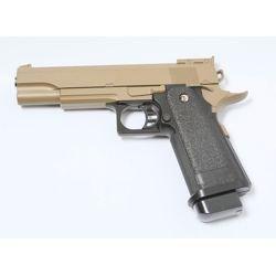 Hi-Capa 5.1 Desert Metal Spring Pistol (Galaxy G6D)