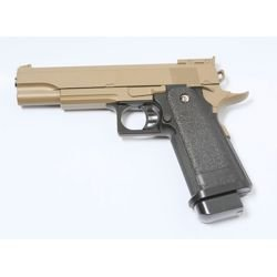 Pistolet Ressort Hi-Capa 5.1 Desert Metal (Galaxy G6D)